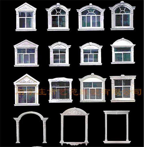 grc、eps欧式窗套线