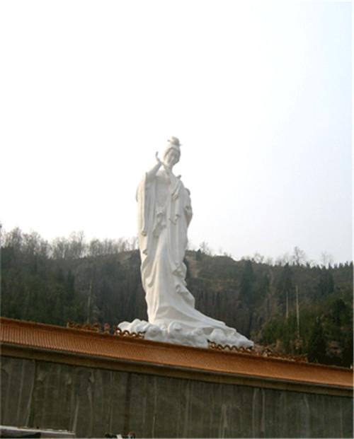 牡丹仙子砂岩雕塑30米高