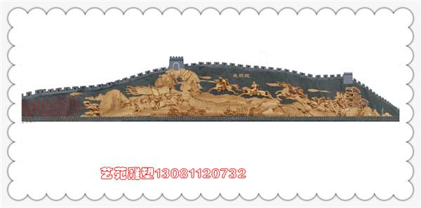 三国题材大型山体浮雕设计施工